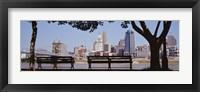 Framed View of Cincinnati OH