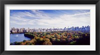 Framed Manhattan from Central Park, New York City
