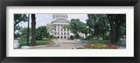 Framed State Capital Building, Madison, Wisconsin, USA
