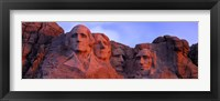 Framed Mt Rushmore National Monument, Rapid City, South Dakota