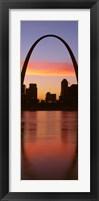 Framed US, Missouri, St. Louis, Sunrise