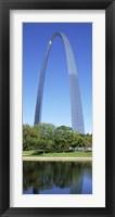 Framed US, Missouri, St. Louis, Gateway Arch