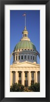 Framed US, Missouri, St. Louis, courthouse