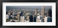 Framed Skyscrapers in Atlanta, Georgia, USA