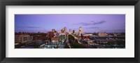 Framed St. Louis, Missouri at Dusk