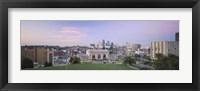 Framed High Angle View Of A City, Kansas City, Missouri, USA