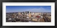 Framed Aerial view of a city, Birmingham, Alabama, USA