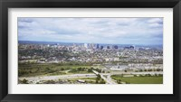 Framed Aerial view of a city, Newark, New Jersey, USA