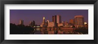 Framed Buildings at the waterfront, Columbus, Ohio, USA