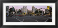 Framed Buildings in a city, Rodeo Drive, Beverly Hills, California, USA
