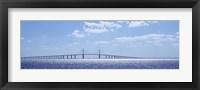 Framed Sunshine Skyway Bridge, Tampa Bay, Florida