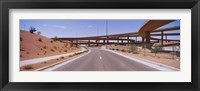 Framed Road passing through a landscape, Phoenix, Arizona, USA