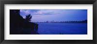 Framed City at the waterfront, Mississippi River, Memphis, Shelby County, Tennessee, USA