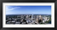 Framed High angle view of a city, Austin, Texas, USA