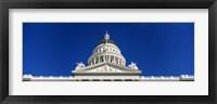 Framed Dome of California State Capitol Building, Sacramento, California