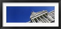 Framed Low angle view of a government building, California State Capitol Building, Sacramento, California