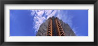 Framed Low angle view of an office building, Sacramento, California