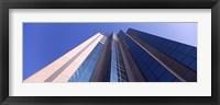 Framed Low angle view of a skyscraper, Sacramento, California