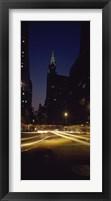 Framed Buildings in a city, Chrysler Building, Manhattan, New York City, New York State, USA