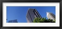 Framed Atlanta Skyscrapers, Georgia
