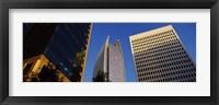 Framed Skyscrapers in a city, Atlanta, Fulton County, Georgia