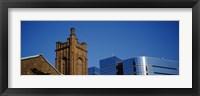 Framed High section view of buildings in a city, Presbyterian Church, Midtown plaza, Atlanta, Fulton County, Georgia, USA