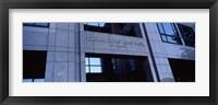Framed Facade of a bank building, Federal Home Loan Bank, Atlanta, Fulton County, Georgia, USA
