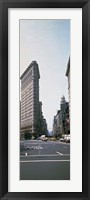 Framed Low angle view of an office building, Flatiron Building, New York City
