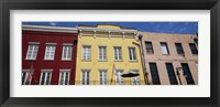 Framed Low angle view of buildings, French Market, French Quarter, New Orleans, Louisiana, USA