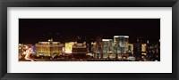 Framed Las Vegas at Night, 2010