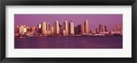 Framed Purple Sky in San Diego