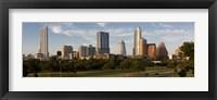 Framed Buildings in a city, Austin, Texas