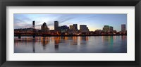 Framed Buildings at the waterfront, Portland, Multnomah County, Oregon