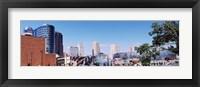 Framed Jazz District, Kansas City, Missouri