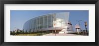 Framed View of the BOK Center, Tulsa, Oklahoma