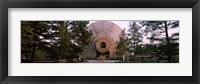Framed Crystal Bridge Tropical Conservatory, Oklahoma City, Oklahoma, USA