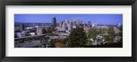 Framed Downtown skyline, Cincinnati, Hamilton County, Ohio, USA