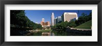 Framed Buildings at the waterfront, Qwest Building, Omaha, Nebraska