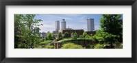 Framed Buildings in a city, Tulsa, Oklahoma, USA