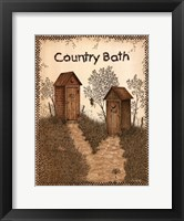 Framed His and Hers Outhouses