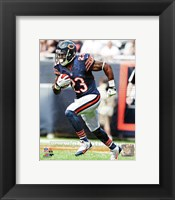 Framed Devin Hester Carrying Football
