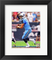 Framed Jake Locker 2013 Action