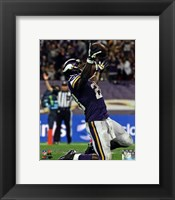 Framed Adrian Peterson 2013 kneeling