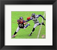 Framed Owen Daniels 2013 Action