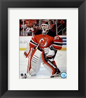 Framed Martin Brodeur On Hockey Ice