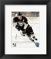 Framed Evgeni Malkin 2013-14 Action