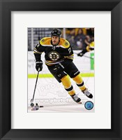 Framed Milan Lucic 2013-14 Action
