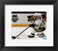 Framed Sidney Crosby 2013-14 Action