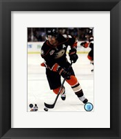 Framed Teemu Selanne on ice 2013-14