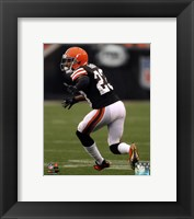 Framed Joe Haden 2013 Action